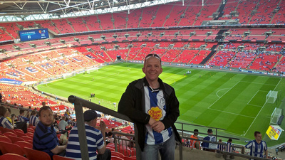 Sheffield Wednesday at Wembley for the Championship play off final against Hull City
